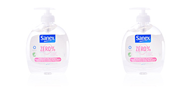Sanex ZERO% SENSITIVE jabón manos dispenser 300 ml