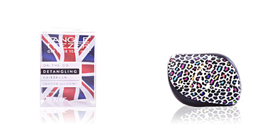 Hair brush COMPACT STYLER punk leopard Tangle Teezer