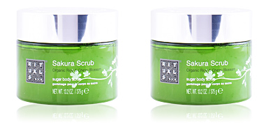 Body exfoliator SAKURA sugar body scrub Rituals