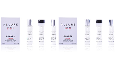 Chanel ALLURE HOMME SPORT COLOGNE 3 Refills perfume