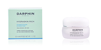 Face moisturizer HYDRASKIN RICH all day skin hydrating cream Darphin