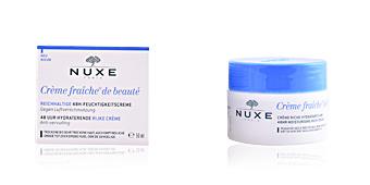 Face moisturizer CRÈME FRAÎCHE DE BEAUTÉ crème riche hydratante 48h Nuxe