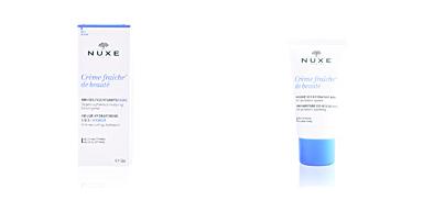 Face moisturizer CRÈME FRAÎCHE DE BEAUTÉ masque sos hydratant 48h Nuxe