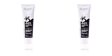 Balsamo per capelli colorati  45 DAYS conditioning shampoo for radiant darks Revlon