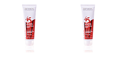 Balsamo per capelli colorati  45 DAYS conditioning shampoo for brave reds Revlon