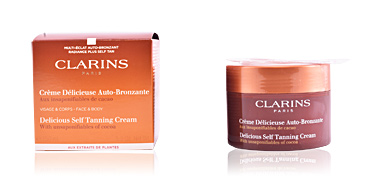SUN crème délicieuse auto-bronzante Clarins