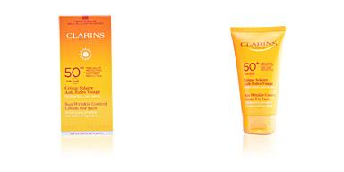 SUN crème solaire anti-rides visage SPF50 Clarins