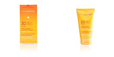 SUN crème solaire anti-rides visage SPF30 Clarins