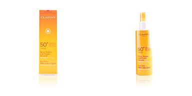 Corps SUN spray solaire lait-fluide sécurité SPF50 Clarins
