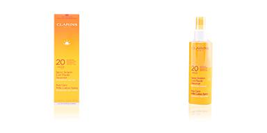 Body SUN spray solaire lait-fluide douceur SPF20 Clarins