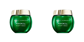 Anti aging cream & anti wrinkle treatment POWERCELL night rescue cream in mousse Helena Rubinstein