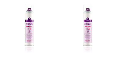 Hair styling product SHINE & HOLD hairspray Aussie