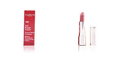 Lipsticks JOLI ROUGE VELVET tenue & matité hydratation Clarins