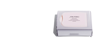 Make-up remover THE ESSENTIALS refreshing cleansing sheets Shiseido