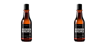 REDKEN BREWS 3in1 shampoo, conditioner and body wash Redken