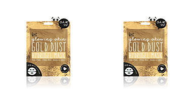 Maschera viso GOLD DUST hydrogel face mask glowing skin Oh K!