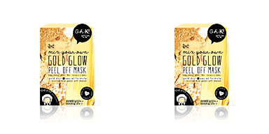 Trattamento viso illuminante GOLD GLOW PEEL OFF mix your own face mask Oh K!