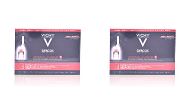 Hair loss treatment DERCOS aminexil clinical 5 homme Vichy