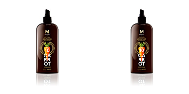 Corporais CARROT suntan oil dark tanning SPF10 Mediterraneo Sun