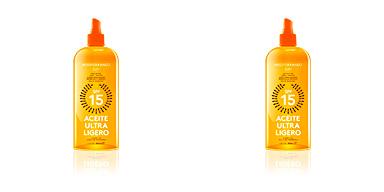 Corporales CARROT suntan oil dark tanning SPF15 Mediterraneo Sun