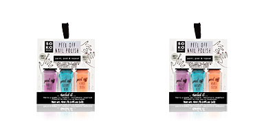 Nagellack Set PEEL OFF NAIL POLISH paint, peel & repeat x 3 colours Oh K!