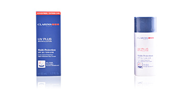 Tratamento hidratante rosto MEN UV PLUS multi-protection SPF50 Clarins