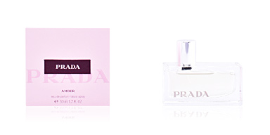 PRADA AMBER eau de parfum vaporizador 50 ml Prada