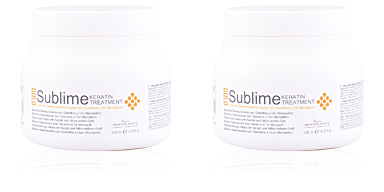 Hair mask for damaged hair GOLD SUBLIME mascarilla reestructurante Light Irridiance