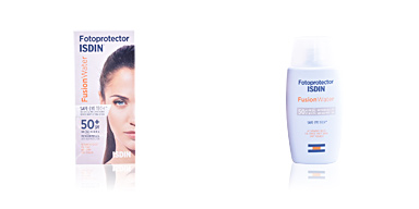 Faciales FUSION WATER fotoprotector SPF50+ Isdin