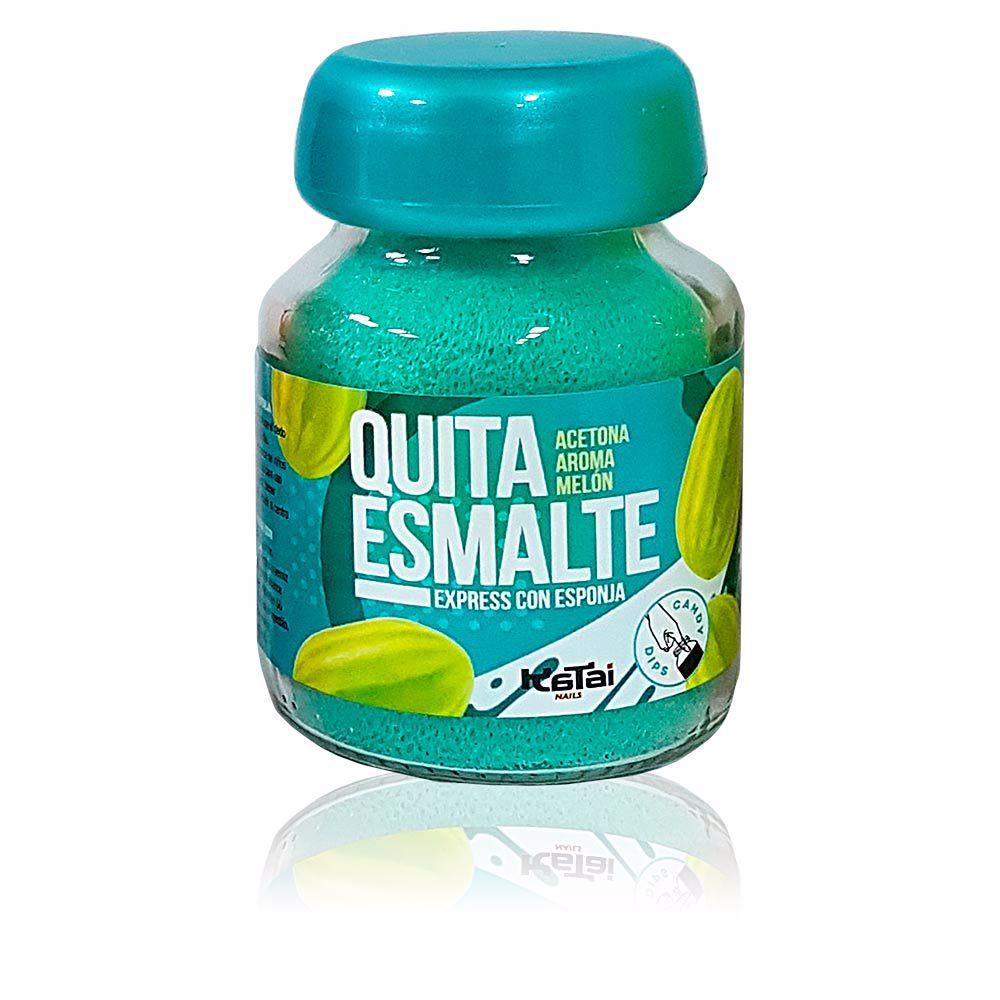 QUITAESMALTE ESPONJA ACETONA aroma melón