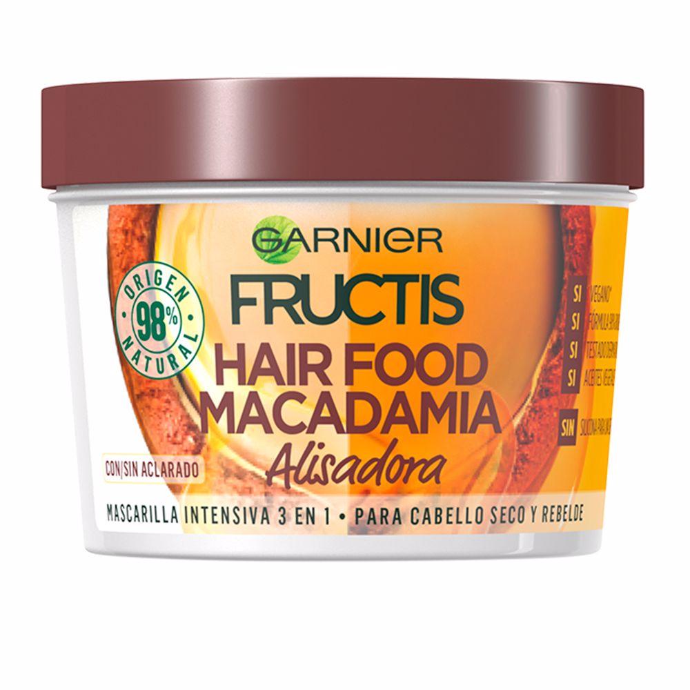 FRUCTIS HAIR FOOD macadamia mascarilla alisadora