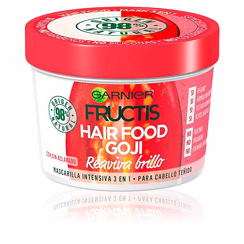 FRUCTIS HAIR FOOD goji mascarilla reaviva brillo