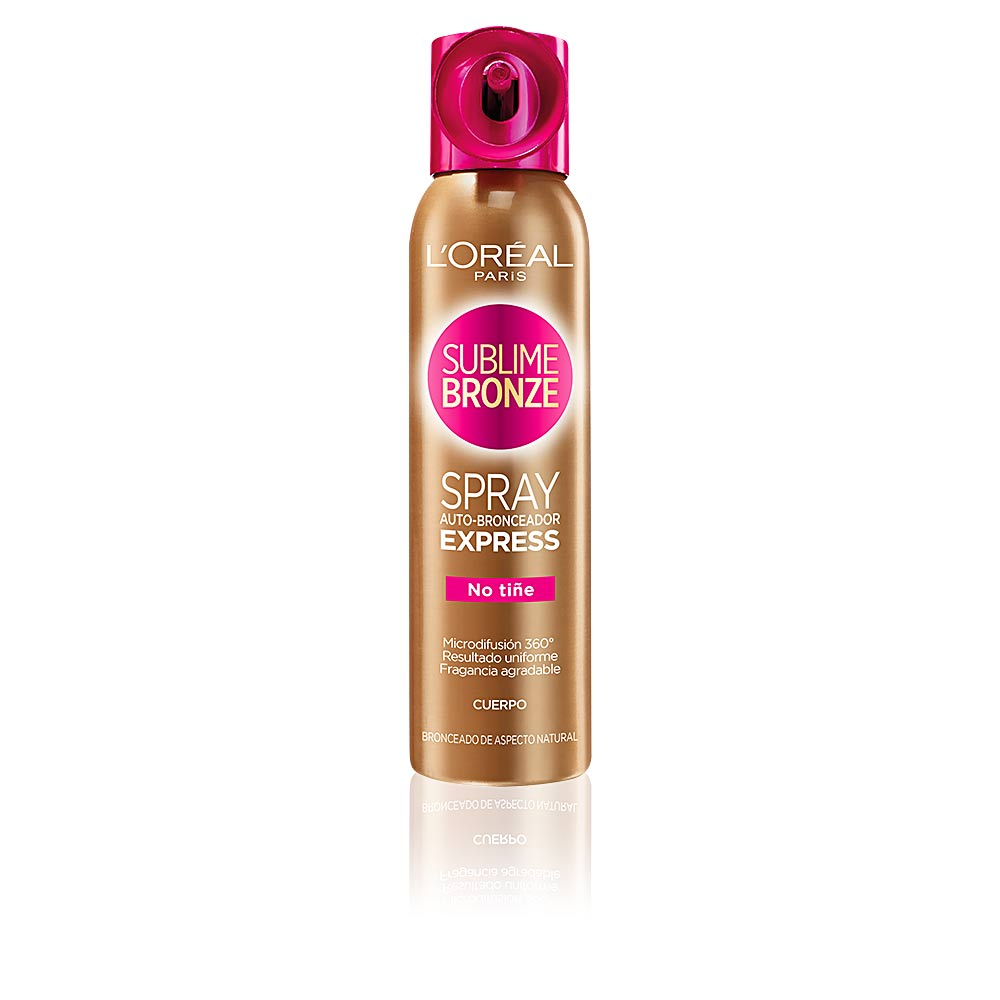 SUBLIME BRONZE spray auto-bronceador exxpress