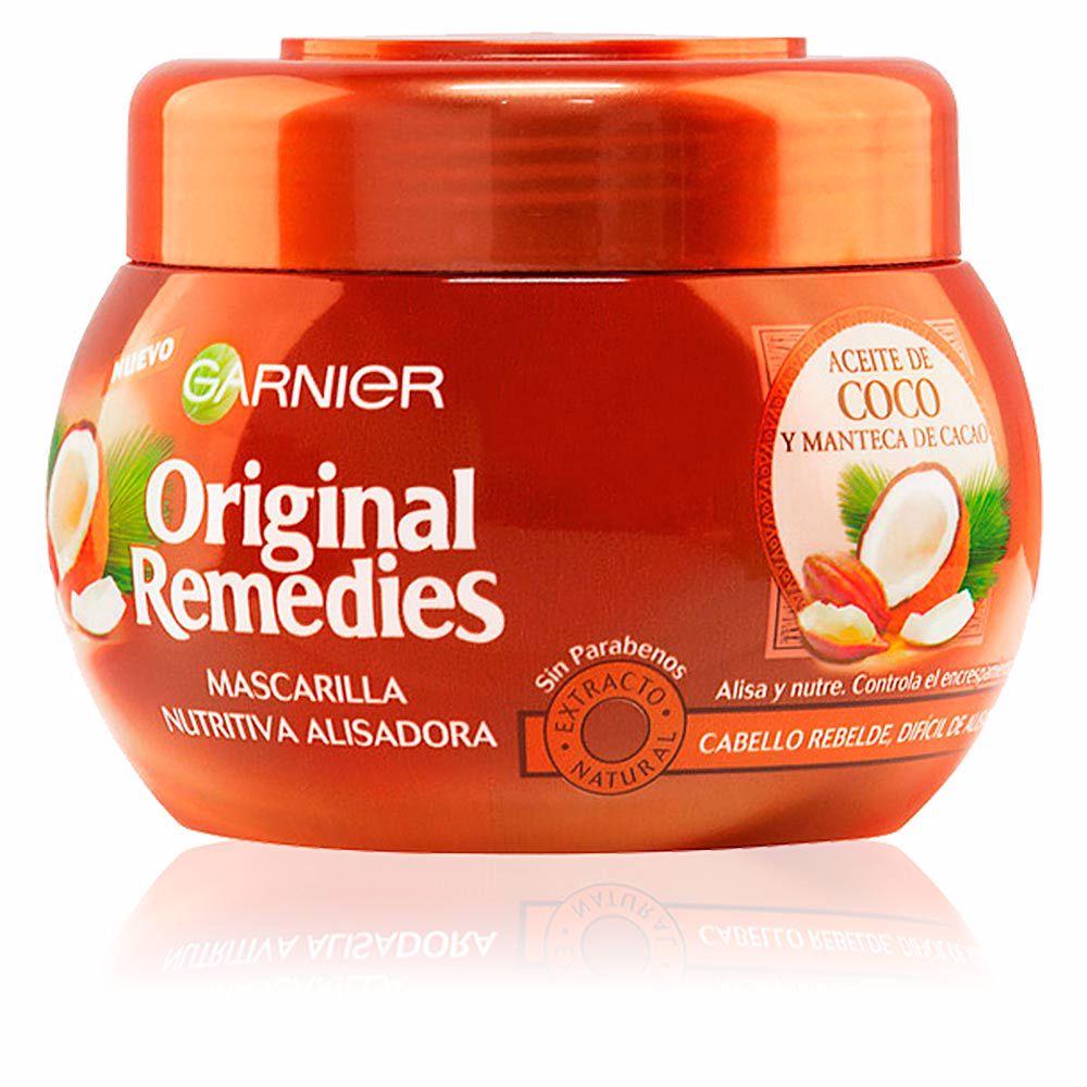 ORIGINAL REMEDIES mascarilla aceite coco y cacao