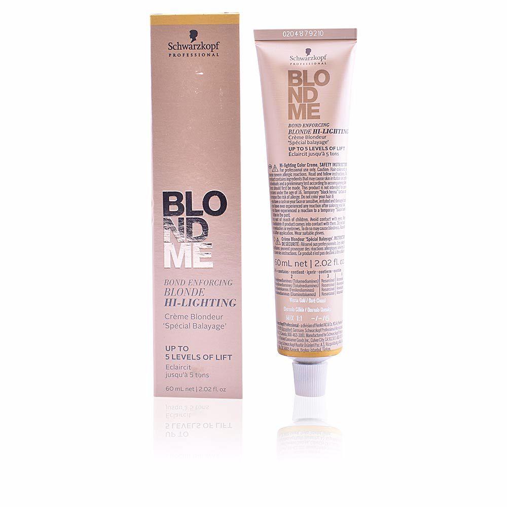 BLONDME bond enforcing blonde hi-lighting