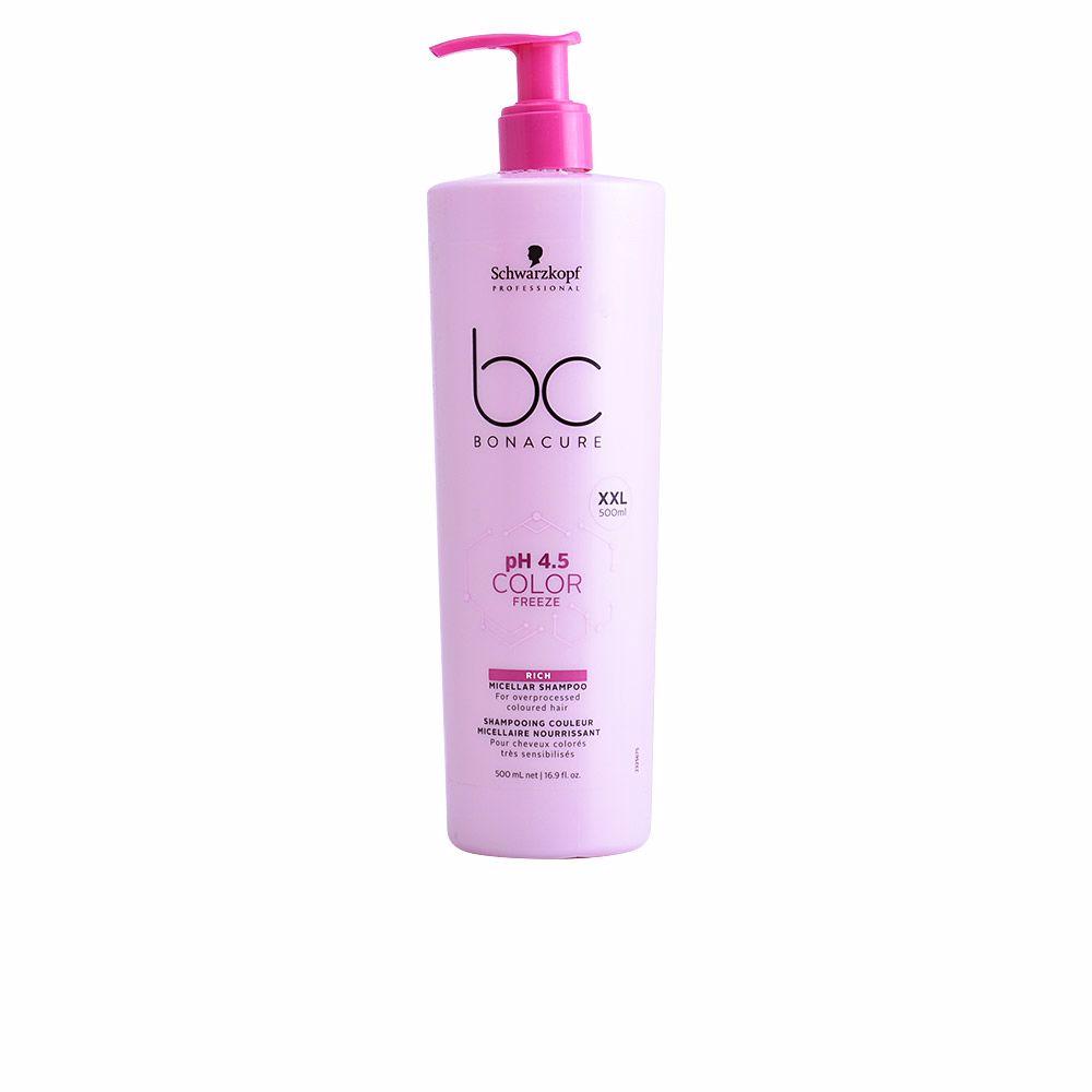 BC COLOR FREEZE rich micelar shampoo