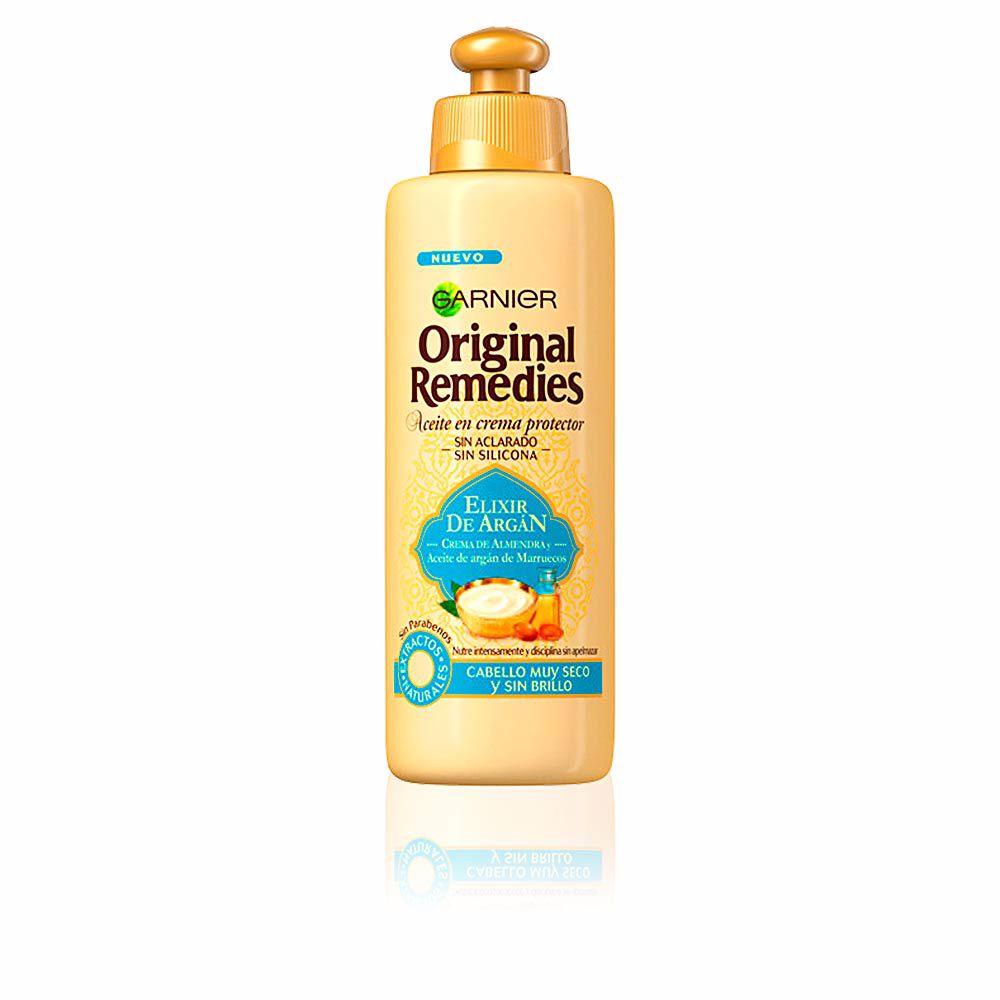 ORIGINAL REMEDIES crema sin aclarado elixir argan