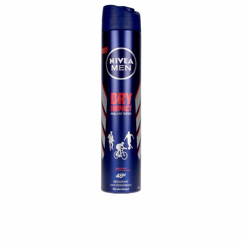 MEN DRY IMPACT PLUS anti-transpirante spray