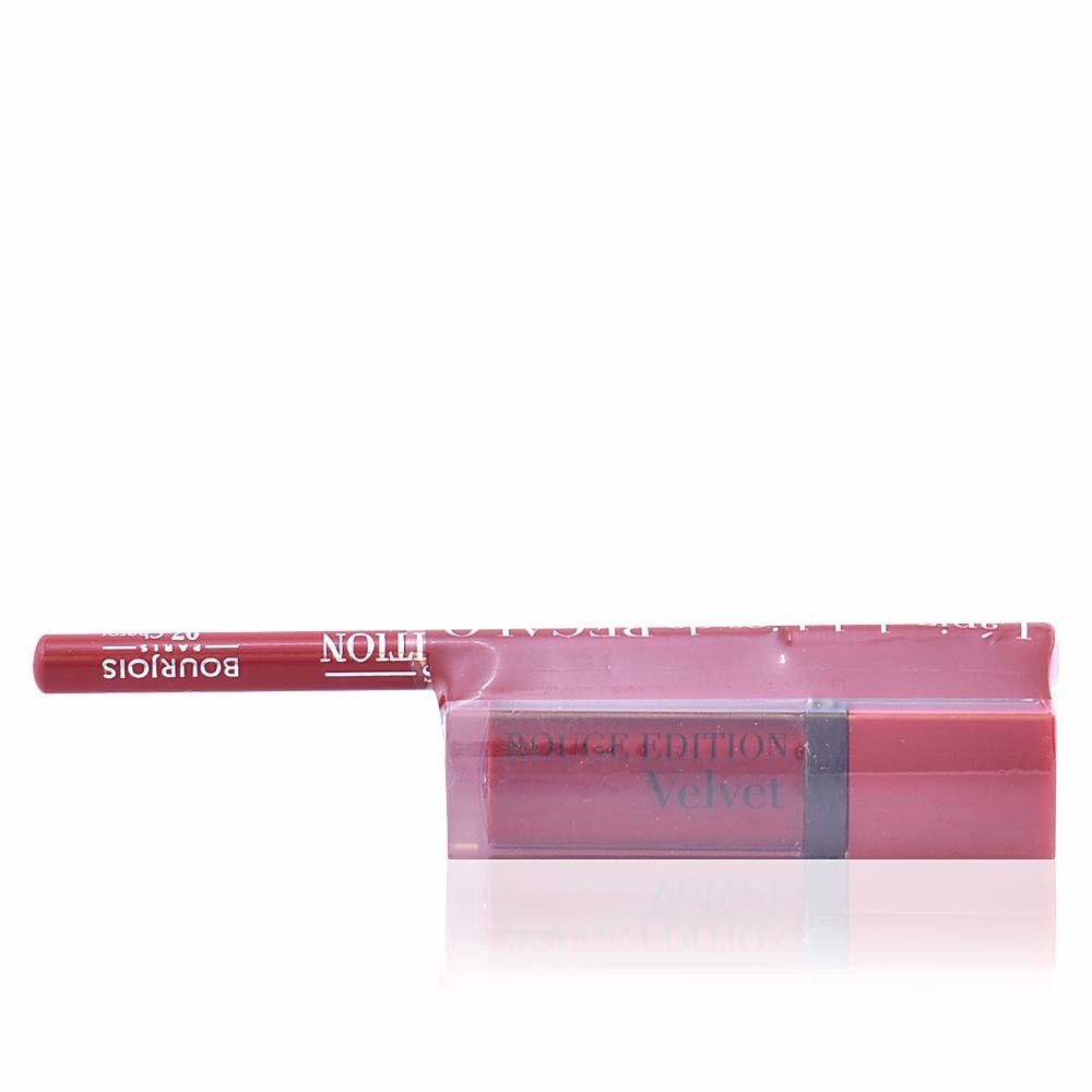 ROUGE ÉDITION VELVET lipstick #15 +contour lipliner #7