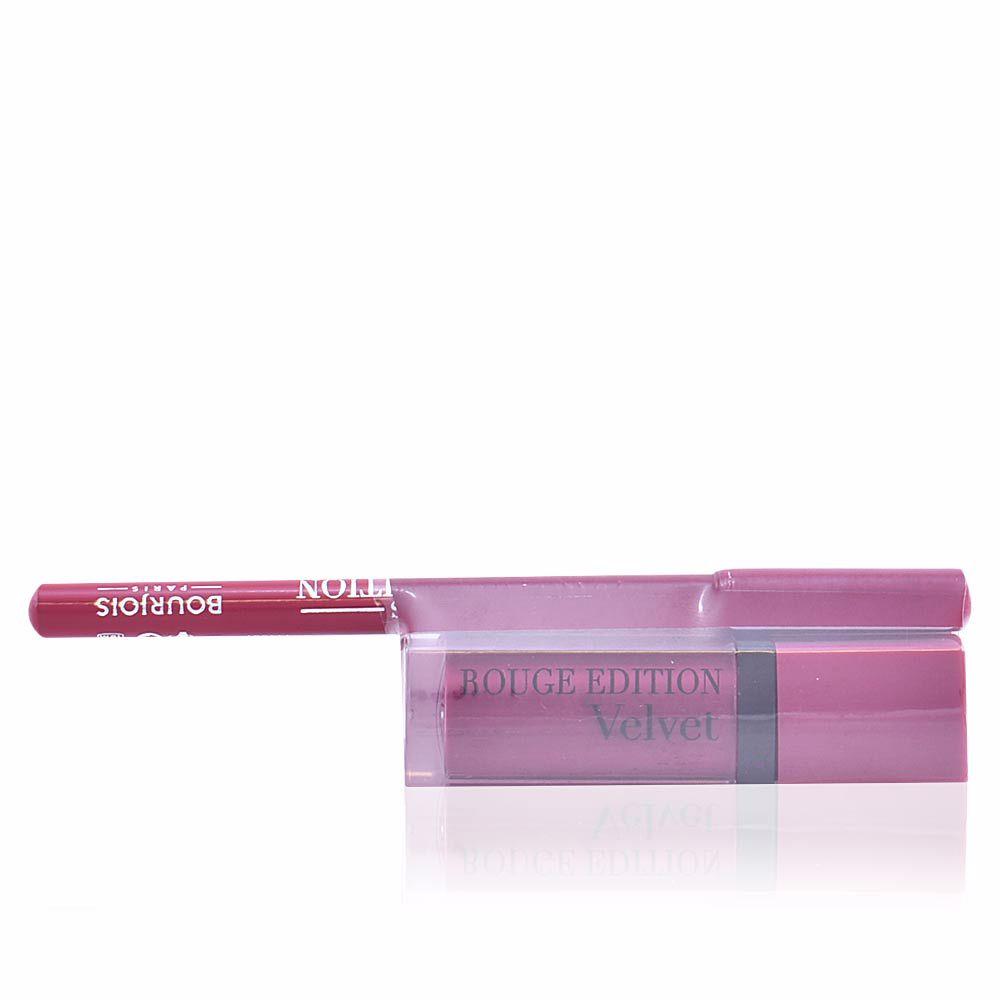 ROUGE ÉDITION VELVET lipstick #14 + contour lipliner #5