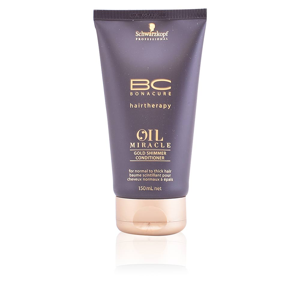 BC OIL MIRACLE gold shimmer conditioner