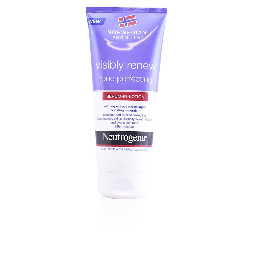 VISIBLY RENEW tone perfecting body serum in lotion