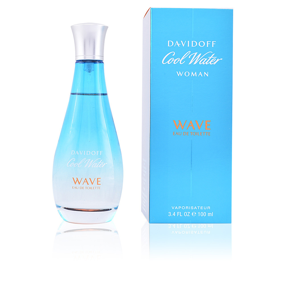 Davidoff Eau De Toilette Cool Water Wave Woman Eau De Toilette Spray