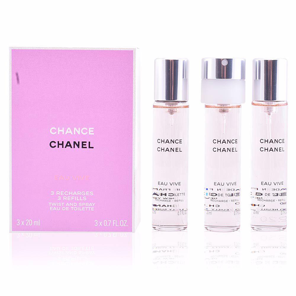 Chanel Eau De Toilette Chance Eau Vive Eau De Toilette Spray Twist