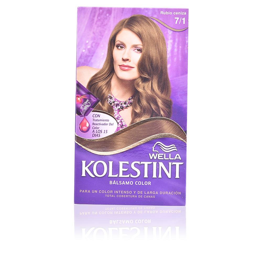 KOLESTINT tinte bálsamo color #7,1 rubio ceniza