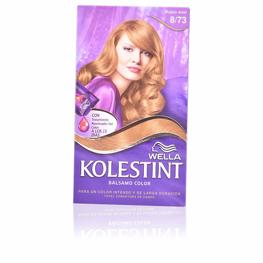 KOLESTINT tinte bálsamo color #8,73 rubio miel
