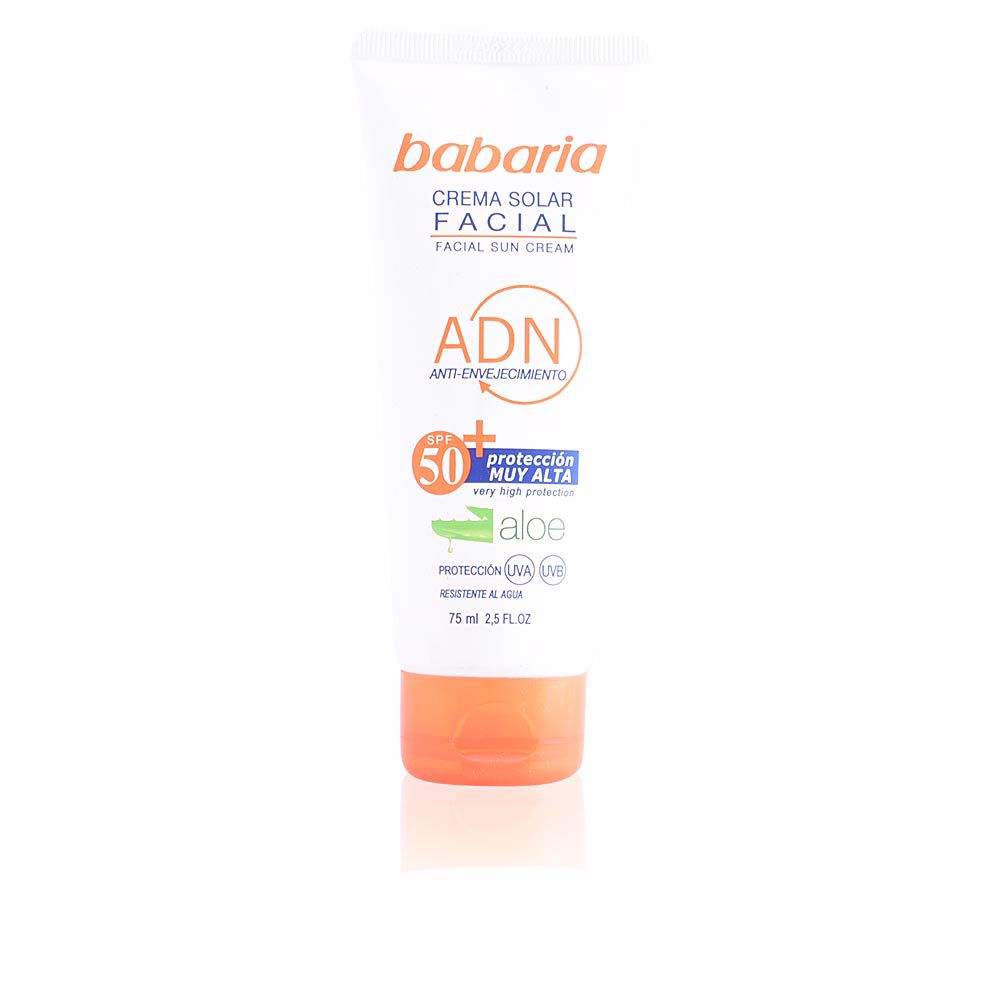 SOLAR ADN crema facial aloe vera SPF50