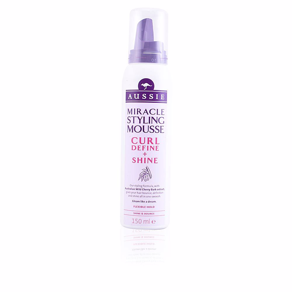 CURL DEFINE & SHINE styling mousse