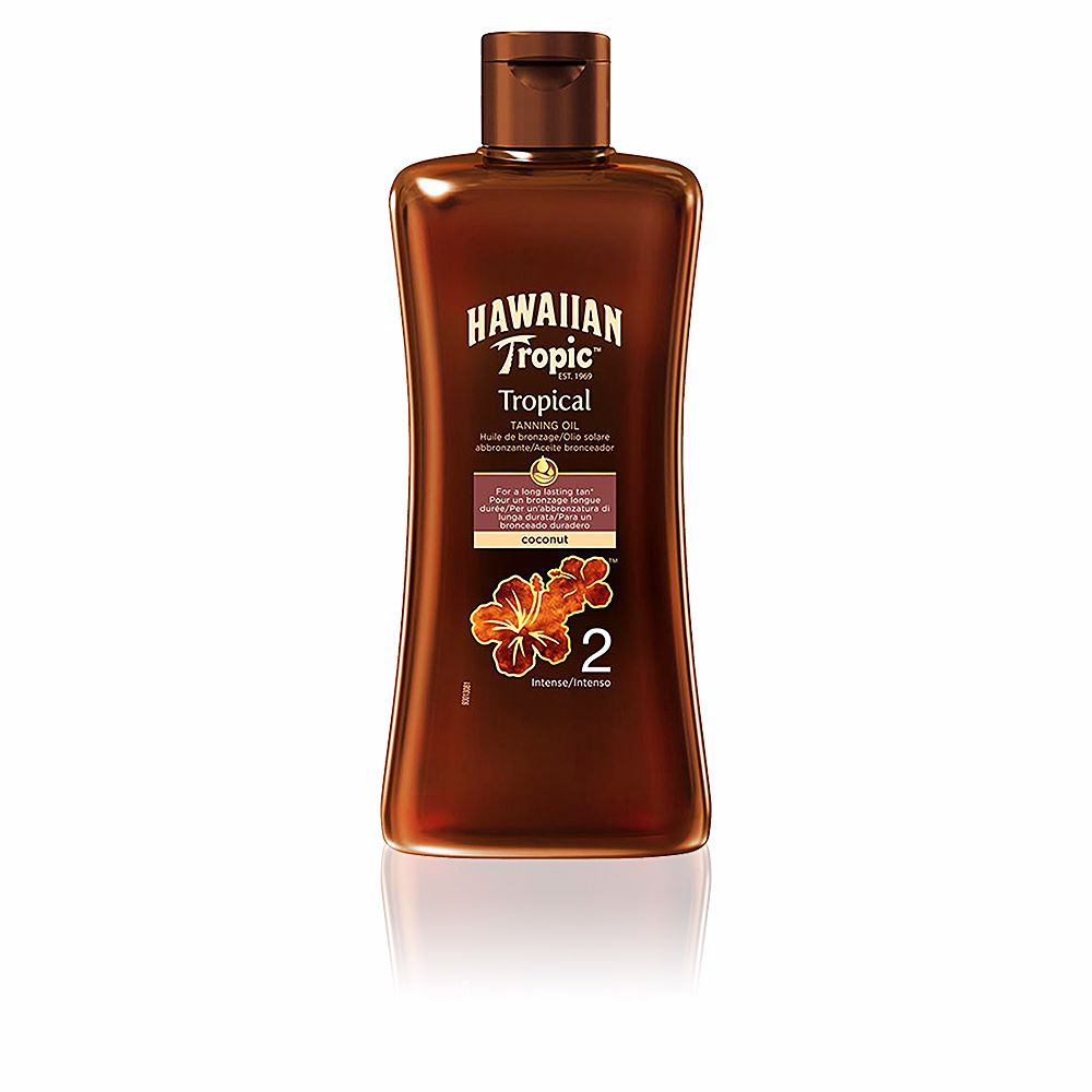 COCONUT tropical tanning oil SPF2