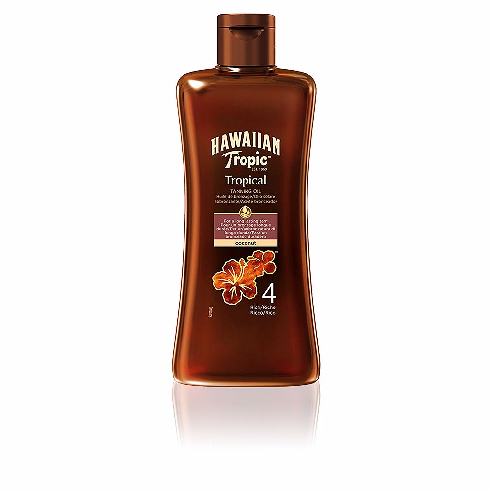 COCONUT tropical tanning oil SPF4